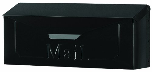- Gibraltar THHB0000 Standard Size Horizontal Style Wall Mount Mailbox, Black