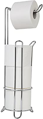 Juvale Bathroom & Kitchen Accessories - Toilet Tissue Stand, Wall Mount Towel Ring
