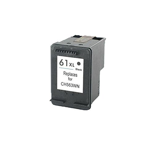 Remanufactured Ink Cartridge Replacement for  HP 61XL (5 x Black) Photo #2