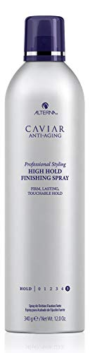 CAVIAR Anti-Aging Professional Styling High Hold Finishing Hair Spray, - Alterna Spray Caviar Styling