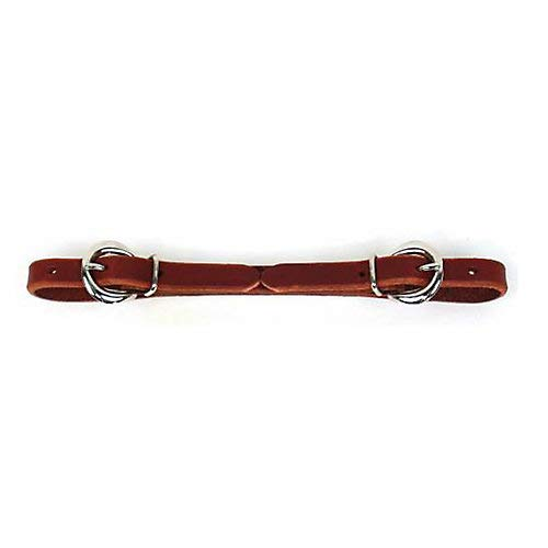 Professionals Choice Double Buckle Burg Curb Strap