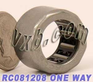 RC081208 One Way Needle Bearing/Clutch 1/2 x 3/4 x 1/2 inch Needle