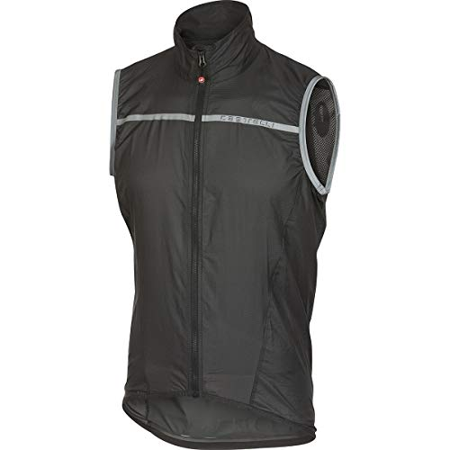 Castelli Superleggera Vest - Men's Anthracite/Yellow Fluo, ()