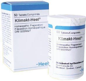 Heel Inc. KLIMAKT-Heel Menopause Symptoms Relief Homeopathy Natural 50 Tabs ()