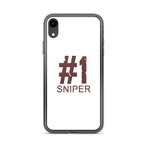 iPhone XR Case Clear Anti-Scratch Sniper, Design Cover Phone Cases for iPhone XR, Crystal Clear]()
