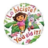 """Single Source Party Supplies - 18"""" Dora the Explorer You Did It! Mylar Foil Balloon by Single Source Party Supplies"""