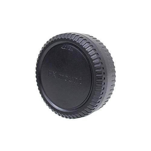 CamDesign Lens Rear Cap & Body Cap Set Compatible with Fujifilm FX Cameras & Lens, fits X-Pro2 X-E1 X-E2 X-M1 X-A1 X-A2 X-A3 X-A10 X-T1 X-T2 X-T10 X-T20