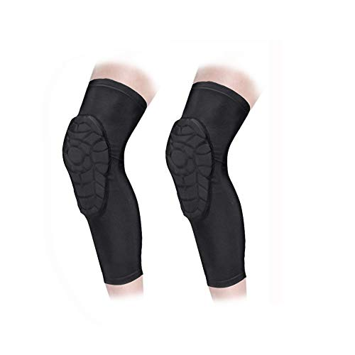 AceList Kids/Youth 5-12 Years Sports Honeycomb Compression Knee Pad Elbow Pads Guards Protective Gear for Basketball, Baseball, Football, Volleyball, Wrestling, Cycling. …