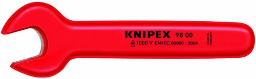KNIPEX 98 00 10 1,000V Insulated 10 Mm Open End Wrench