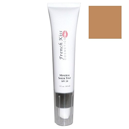 French Kiss Cosmetics Mineral Sheer Tint Deep SPF 20 1oz.