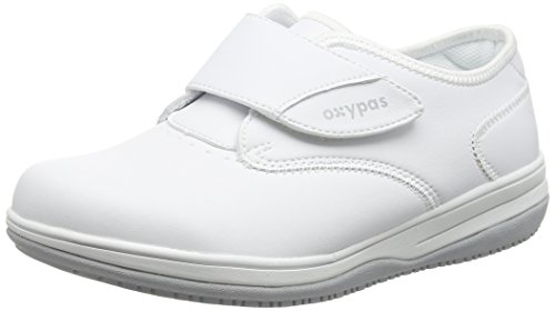 Oxypas Medilogic Emily Slip-resistant, Antistatic Nursing Shoe, White (Wht), 4 UK (37 EU)