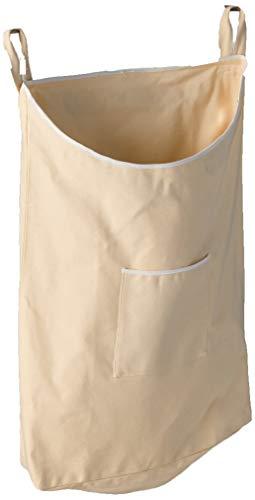 WENKO Over-The- Over-The-Door Laundry Collector, Beige (Door Of Back Hamper Laundry)