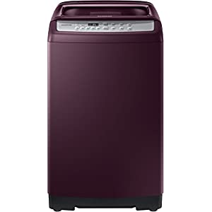 Samsung 7.5 Kg Fully-Automatic Top Loading Washing Machine (WA75M4500HP/TL, Sparkling Plum, Wobble Pulsator)