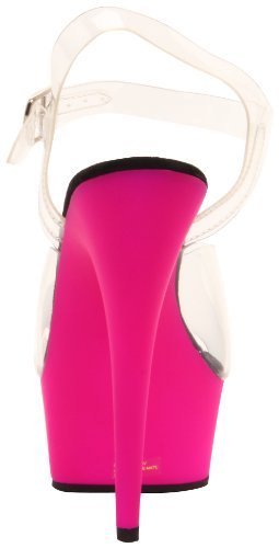 Purple Sandali Clr Delight Donna Pleaser Neon 608uv 8SqFf