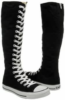 converse knee high boots | Benvenuto