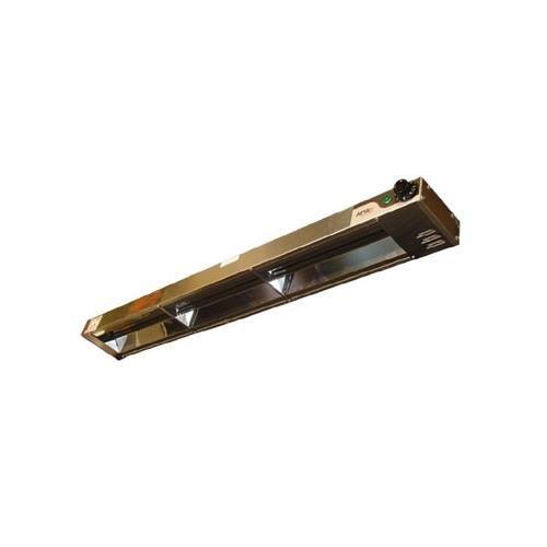 APW Wyott Single Standard Infinite Control Calrod Overhead Warmer - High Wattage, 6 x 2 1/2 x 54 1/4 inch -- 1 (54h Overhead Warmer)