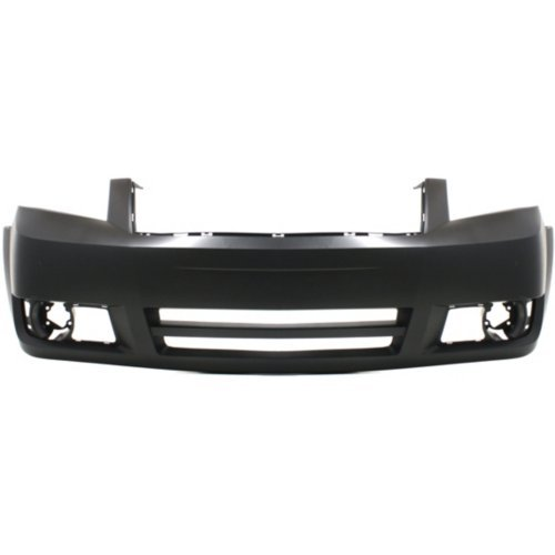 Front Bumper Cover for DODGE GRAND CARAVAN 2008-2010 Primed with Headlight Washer and Fog Light Holes - CAPA