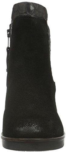 Mjus Damen 164204-0101-003 Kurzschaft Stiefel Schwarz (nero+pepe)