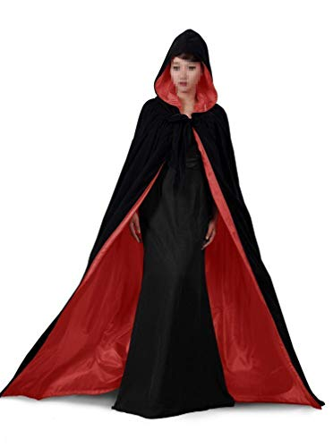 Special Bridal Medieval Cloak Black Cape Adult Renaissance Costume Halloween Costumes Velvet Cape