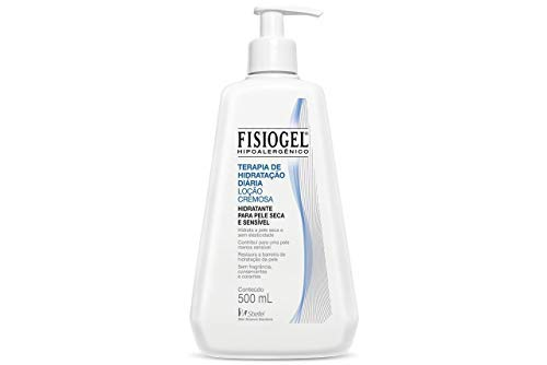 Fisiogel Locao Cremosa, Frasco 500ml, Fisiogel, Branco