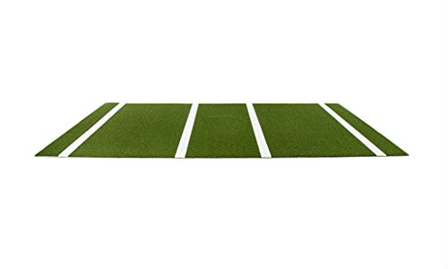 PB72144 6' x 12' Green Synthetic Turf Baseball / Softball Hitting Mat by Unknown