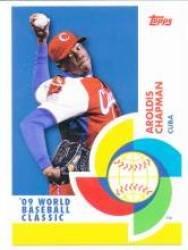 2009 Topps WBC Stars #BCS16 Aroldis Chapman - Cuba (World Baseball Classic)(Baseball -