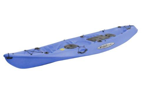 Kayak Package Tandem - Malibu Kayaks Pro 2 Tandem Fish and Dive Package Sit on Top Kayak, Blue
