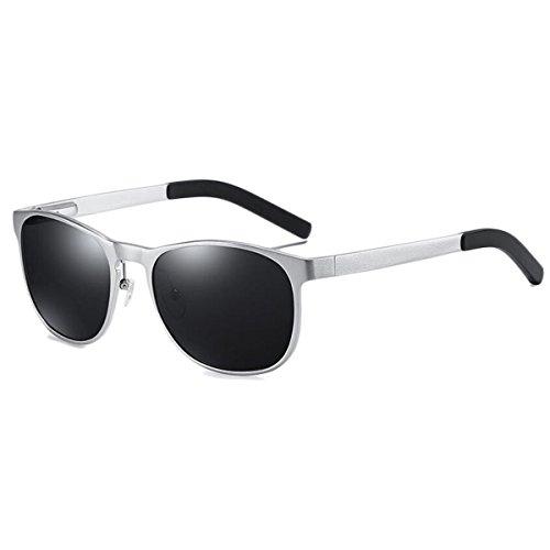 56ecef881c Gafas De Sol Polarizadas Para Hombres Marco De Aleación De Aluminio Y  Magnesio Gafas De Sol ...