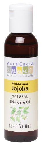 - Aura Cacia Natural Skin Care Oil, Balancing Jojoba, 4 Fluid Ounce