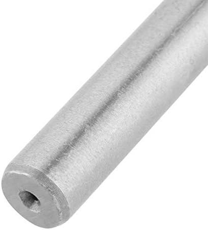 8Pcs White HSS Twist Drill Bit Set Large Heat Treated Industrial,Easy Installation