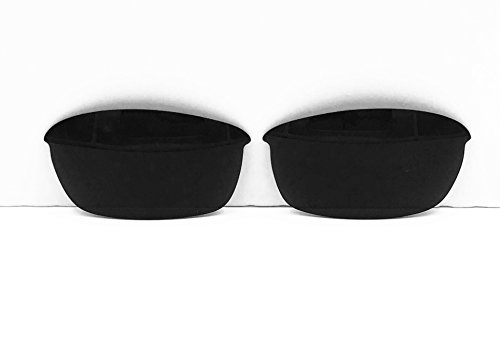 Polarized Replacement Lenses for Oakley Flak Jacket Sunglasses (Black) - Flak Jacket Xl