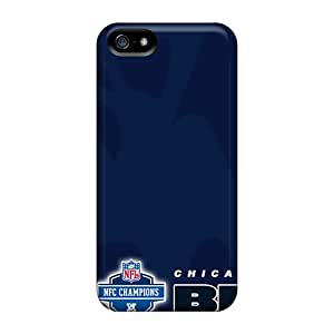 Iphone 5/5s WCf1478cMlJ Support Personal Customs Lifelike Chicago Bears Image Excellent Hard Phone Cover -JasonPelletier