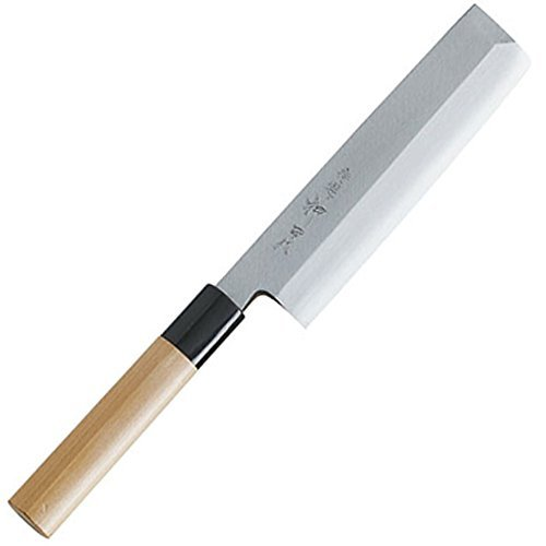 Yasushi Steel Thin Edge Knife 165 mm Nakiri Cooking Knige