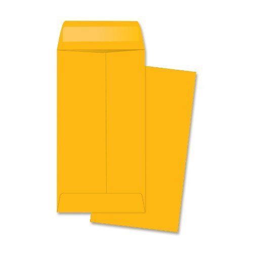 # 7 Coin Brown Kraft Envelopes, Peel & Seal, for Small Parts, Cash, Pack of 100 Next Day Labels