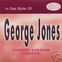 - GEORGE JONES Country Karaoke Classics CDG Music CD