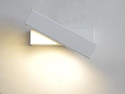 Louvra applique murale moderne led w aluminium dimmable rotatif