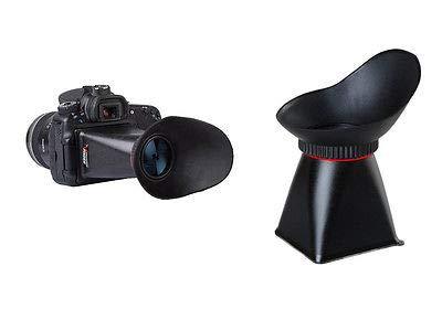 FidgetFidget Extender 3.2'' LCD Viewfinder 3:2 2.8X Magnifier for Canon 5D Mark III 1DX D600