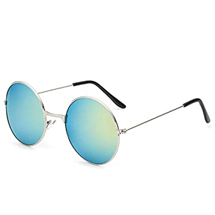 Amazon.com: Kasuki Vintage Women Round Sunglasses Mens ...