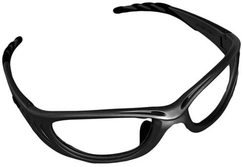 Predator-Guard X-Ray Radiation Protection Glasses, 0.75mm Pb Equivalency Lens, Black by Colortrieve