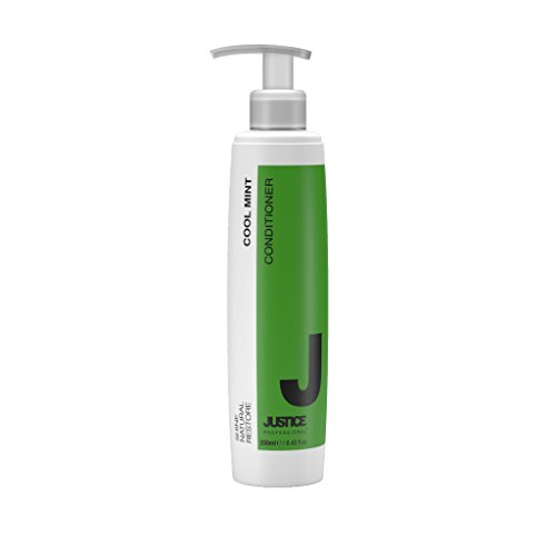 Cool Mint Conditioner Rejuvenate & Moisturize Naturally | Deep Conditioning Treatment Repairs Damaged Hair | Sooth Scalp, Stimulate Growth, Add Shine, Body, Volume/JUSTICE Professional 250ml 8.5oz by Justice Professional Haircare (Image #6)
