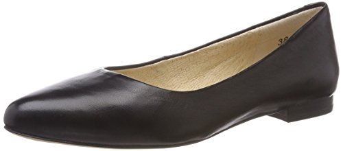 Caprice Women's 22107 Ballet Flats, Navy Dots Black (Black Nappa 22)