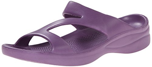 DAWGS Womens Arch Support Z Sandals Purple