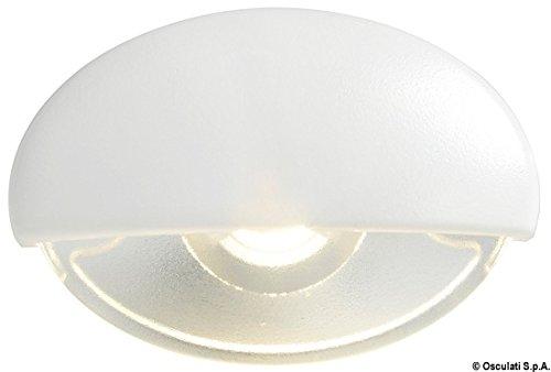 Batsystem Licht Höflichkeit Steeplight chrom LED blau