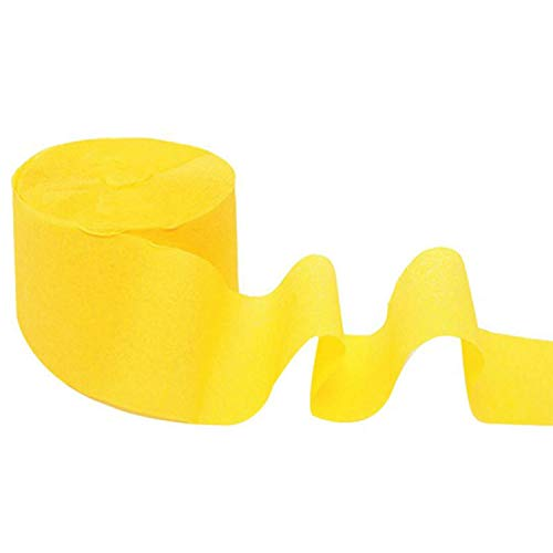 Miao Express Crepe Paper Streamers for Birthday Party