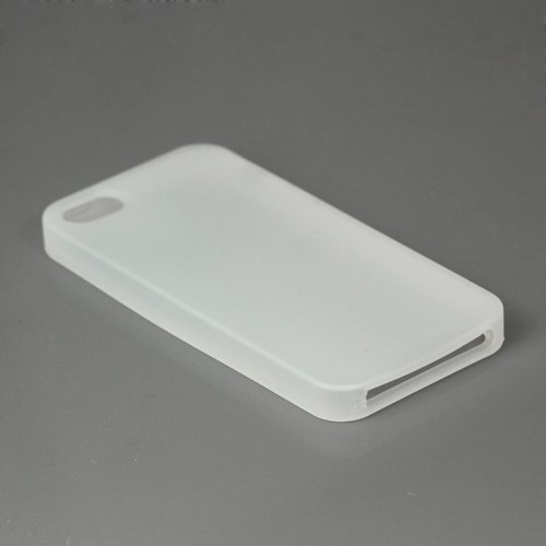 """iProtect Premium Hardcase / Cover / Case / Hülle für Apple iPhone 5 / the new iphone Case in transparent in der """" Silikon EDITION"""""""