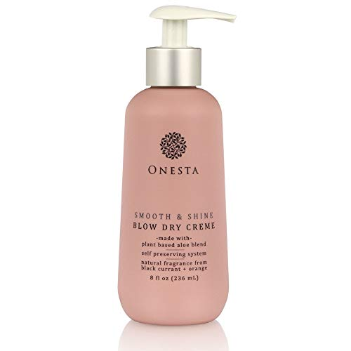 Onesta Hair Care Smooth & Shine Blow Dry Cream, 8 Fl Oz