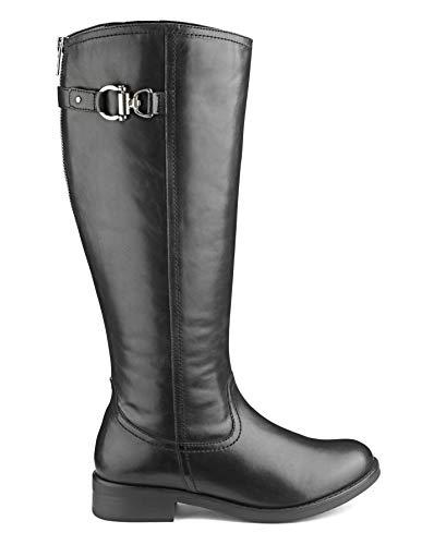 Womens Sole Simply Riding Black Boots Diva Be U5wqz
