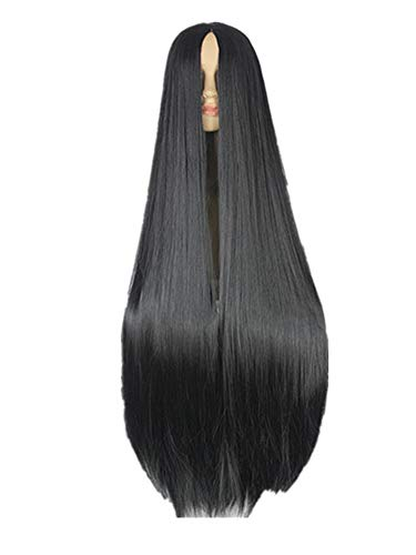 Wig Synthetic Heat Resistant Fiber Long Halloween Carnival Cos-play Straight Hair,Bug,38inches for $<!--$103.33-->