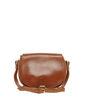 Orelia Leather Satchel Bag Dark Tan RRP £75: Amazon.co.uk: Clothing