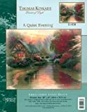 Thomas Kinkade A Quiet Evening Cross Stitch Kit